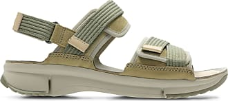Clarks Womens Sandal Khaki Combi Clarks Tri Walk Size 6.5