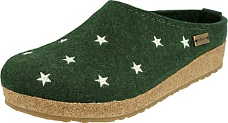 Haflinger Womens Grizzly Stelline Slipper, Yew, 8.5 UK