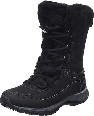 Hi-Tec Womens EQUILIBRIO ST Bijou 200 I Waterproof High Rise Hiking Boots, Black (Black 21), 3.5 (36 EU)