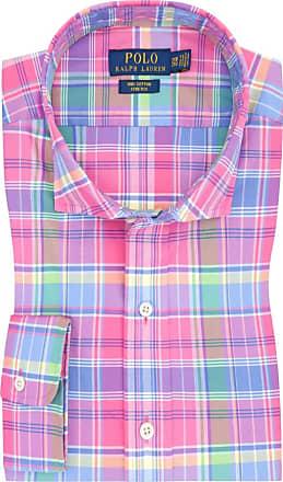 Polo Ralph Lauren Übergröße : Polo Ralph Lauren, Freizeithemd im Überkaro in Pink für Herren