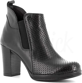 Generico Generic Made in Italy Leather Boot with Zip - Black Black Size: 4 UK