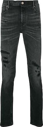 Rta distressed slim-fit jeans - Preto