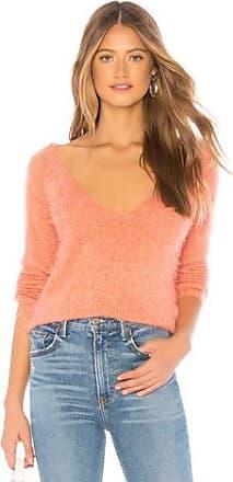 Minkpink Fuzzy V-neck Sweater