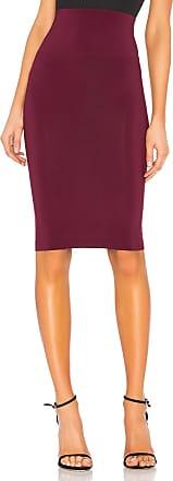 Norma Kamali Tube Skirt in Purple