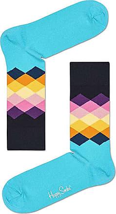 Happy Socks Faded Diamond Sock - Light Blue (M/L (EU 41-46))