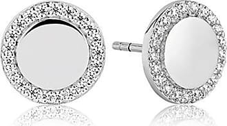 Sif Jakobs Jewellery Earrings Follina with white zirconia