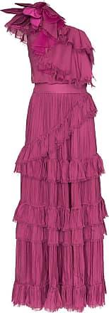 Johanna Ortiz God of the Night ruffle dress - Rosa