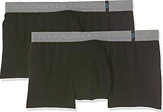 Bruno Banani Mutande Boxer Da Uomo Short Pant Micro simply BLU GRIGI 2-er Pack