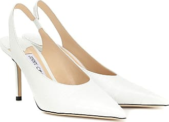 Jimmy Choo London Pumps slingback Ivy 85 in pelle stampata