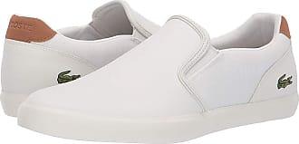 1a303eebccbfa Lacoste Jouer Slip 119 2 (Off-White Light Brown) Mens Shoes