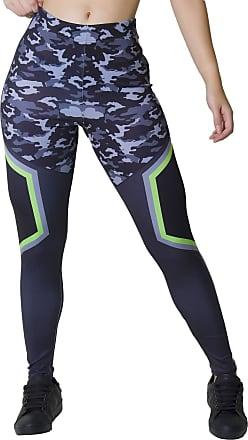 Kaisan Calça Feminina Legging Sublimada Camo Tech