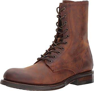 Frye Mens Folsom Combat Boot, Redwood, 9 D US