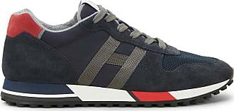 Hogan H383, ROT,GRAU,BLAU, 10.5 - Schuhe