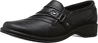 Easy Street Womens Giver Flat, Black, 6.5 M US