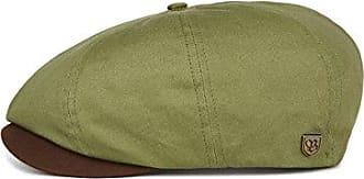 Brixton Mens Brood SNAP Cap, Light Olive/Brown, M