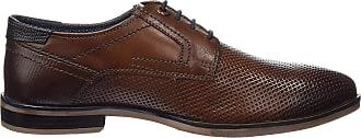 Tom Tailor Mens 4889101 Derbys, Brown Cognac, 10.5 UK