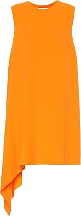 Oscar De La Renta Wool-blend crêpe dress