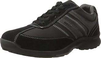 Dockers by Gerli Mens 37LK908-204120 Lace-Up Shoes, Black (Black/Grey), 8 UK (42 EU)