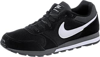Nike MD RUNNER 2 Sneaker Herren in black-white-anthracite, Größe 42 1/2