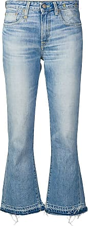 R13 cropped bootcut jeans - Blue