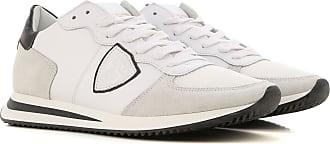 Philippe Model Sneaker für Herren, Tennisschuh, Turnschuh Günstig im Outlet Sale, Tropez, Weiss, Leder, 2019, 40 41 43 44 45 46