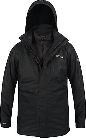 Regatta Mens Black Whitehall Waterproof Jacket Xxl