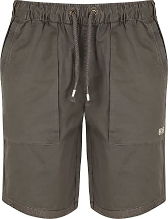 Tokyo Laundry Overhang Shorts in Dark Gull Grey L