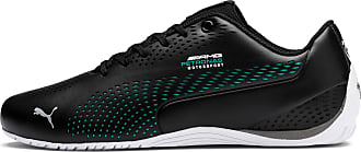 Puma Womens PUMA Mercedes Amg Petronas Drift Cat 5 Ultra II Trainers, Black/Spectra Green, size 6.5, Shoes