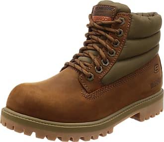 Skechers Mens SERGEANTS-VERNO Classic Boots, Brown (Dark Brown Leather CDB), 13 (48.5 EU)