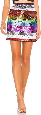 X by NBD Meow Embellished Skirt in Purple