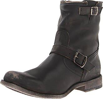 Frye Mens Smith Engineer Boot, 87078-Black, 9.5 D US