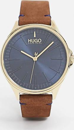 HUGO BOSS brown leather watch 1530134