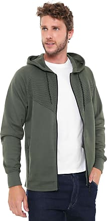 Jack & Jones Moletom Aberto Jack & Jones Sweat Male Verde