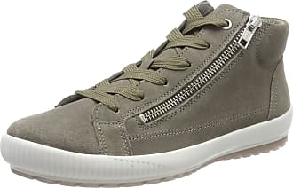 Legero Womens Tanaro Hi-Top Trainers, (Flint (Green) 76), 5.5 UK