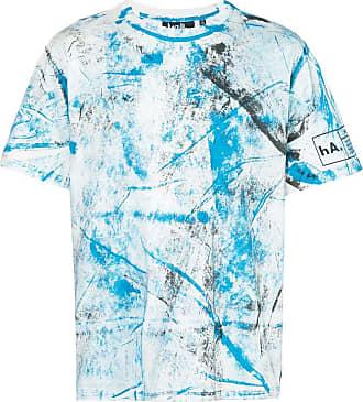 Haculla hand paint T-shirt - Blue