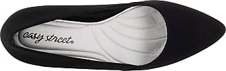Easy Street Womens 31-1011 Closed Toe Casual Espadrille Sandals Black Size: 5.5 UK