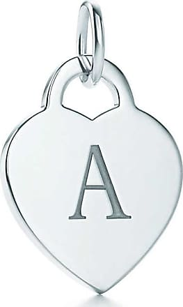 Tiffany & Co. Alphabet heart tag letter A charm in sterling silver Letters A-Z available - Size A