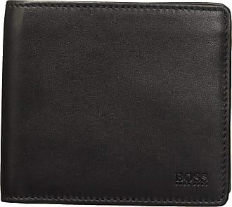 BOSS Majestic S_4 Cc Coin Mens Wallet, Black, 2x9.5x11 Centimeters (B x H x T)