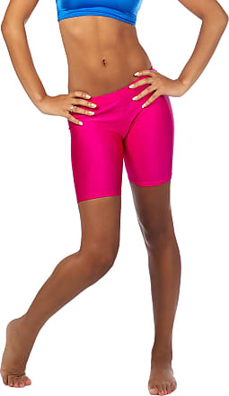 The Celebrity Fashion Womens Active Bike Gym Workout Cycling Shorts Running Casual Sport Leggings Neon Pink