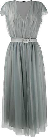 Fabiana Filippi layered midi dress - Grey