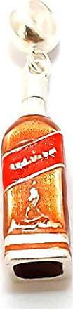 Boreale Joias Berloque Prata 925 Garrafa Red Label Whisky Pulseira Pandora