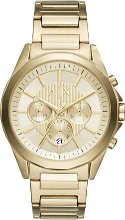 A|X Armani Exchange Relógio Dourado - Homem - Único IT