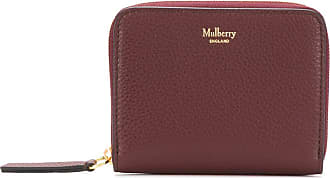 Mulberry Carteira de couro texturizado - Vermelho