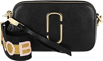 Marc Jacobs Cross Body Bags - Logo Strap Snapshot Small Camera Bag Leather New Black - black - Cross Body Bags for ladies