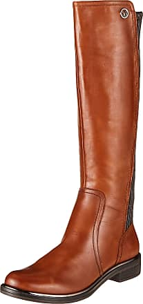 Caprice Womens Kania High Boots, Brown (Cognac Nappa 303), 5.5 UK
