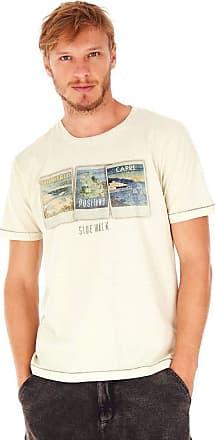 SideWalk Camiseta Polaroid - Off White - Tamanho P