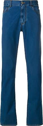 Canali Calça jeans reta - Azul
