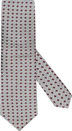 Altea Übergröße : Altea, Krawatte aus 100% Seide in Grau für Herren