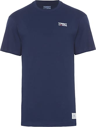Tommy Jeans T-SHIRT MASCULINA CHEST LOGO - AZUL