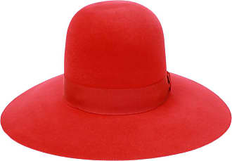 Dolce & Gabbana Hat With Grosgrain Band Womens Red